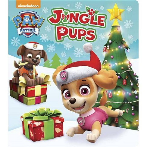 Jingle Pups (Paw Patrol) - (Glitter Board Book) (Board_book) - image 1 of 1