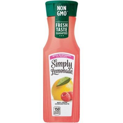 Simply Lemonade with Raspberry - 11.5oz