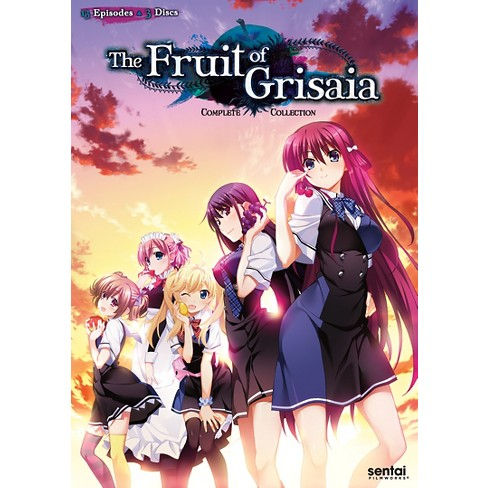 FRUIT OF GRISAIA-SEASON 1 (DVD/3 DISC) - image 1 of 1