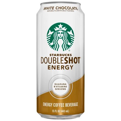 Starbucks Double Shot White Chocolate 15 Fl Oz Can
