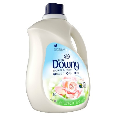 Downy Rosewater & Aloe Nature Blends Fabric Softener - 103oz
