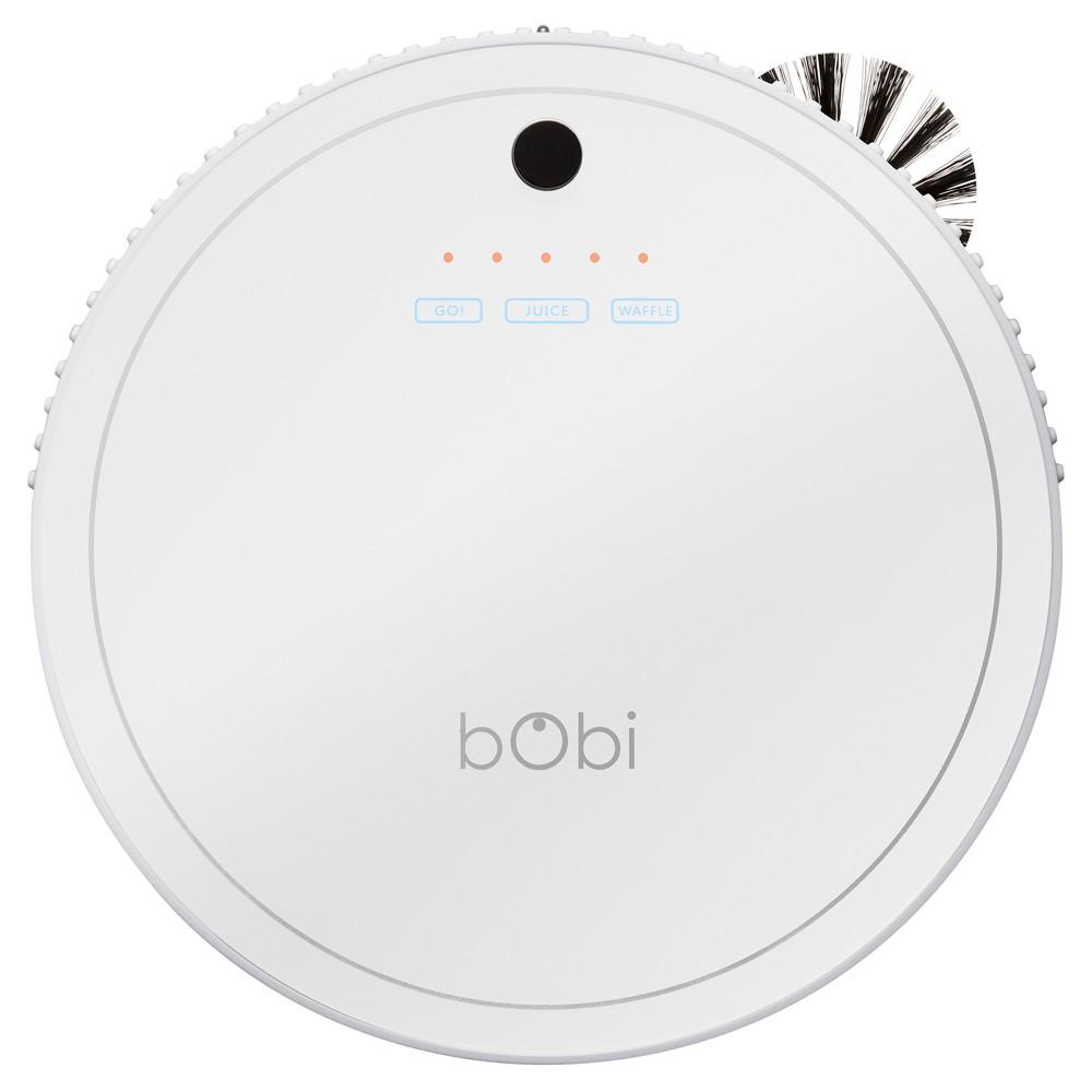 Image of bObi Classic Robotic Vacuum Cleaner - White