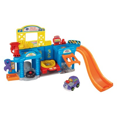 VTech Go! Go! Smart Wheels Lift and Fix Repair Shop