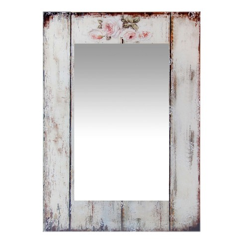 "Picket Fence 27.5"" X 19.75"" Wall Mirror - Infinity Instruments - image 1 of 4"