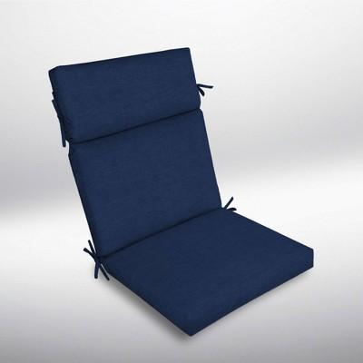 Leala Texture Cartridge Chair Cushion Sapphire - Arden Selections