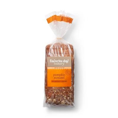 Pumpkin Spice Breakfast Bread - 20oz - Favorite Day™