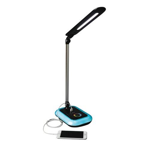 OttLite LED Glow Desk Lamp - Black - image 1 of 4