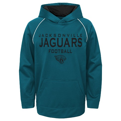 afdcb9ca606 Jacksonville Jaguars Boys  In The Game Poly Embossed Hoodie XL   Target