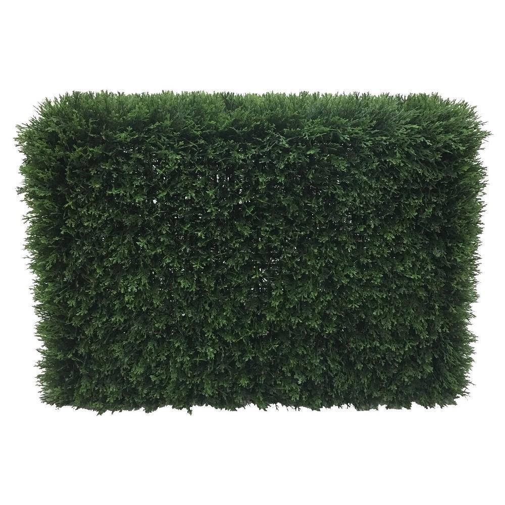 """Image of """"Artificial Cedar Hedge UV (36"""""""") Green - Vickerman"""""""