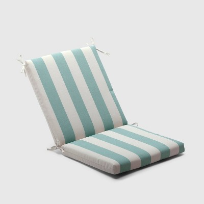 Cabana Stripe Outdoor Chair Cushion Turquoise - Threshold™