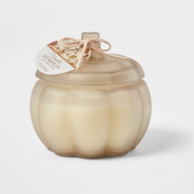 Medium Pumpkin Vanilla Pumpkin Stucco Candle - Threshold™