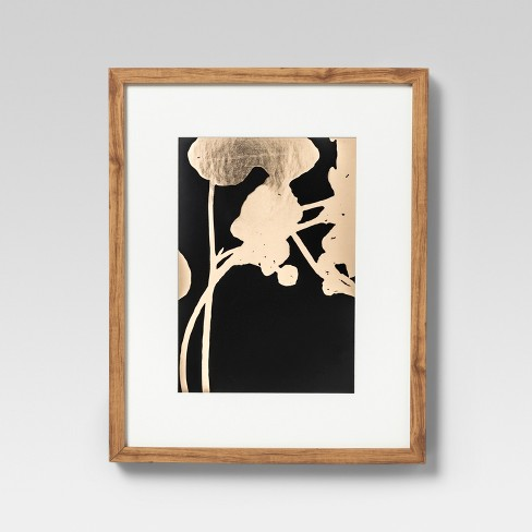 Framed Gold Foil Wall Print 16 X 20 - Project 62™ - image 1 of 4