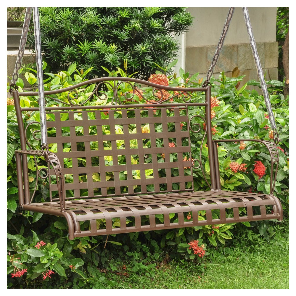 Image of International Caravan Porch Swing - Brown