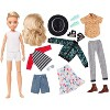 Creatable World Deluxe Character Kit Customizable Doll - Blonde Wavy Hair - image 2 of 4