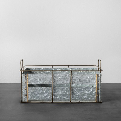 Wonderful Galvanized Metal Storage Bin Medium   Hearth U0026 Hand™ With Magnolia