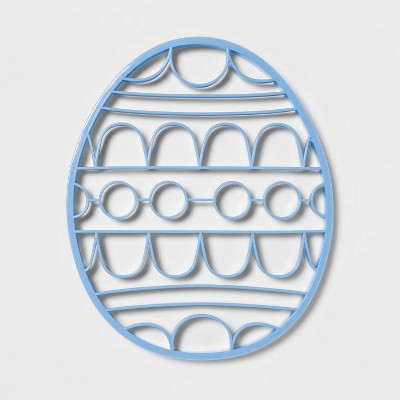 Plastic Giant Easter Egg Cookie Cutter Blue - Spritz™