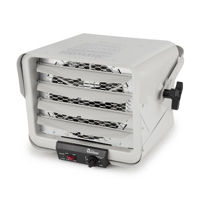 Dr. Heater DR-966 240V 6000 Watt Garage Workshop Industrial Infrared Commercial Space Heater, White