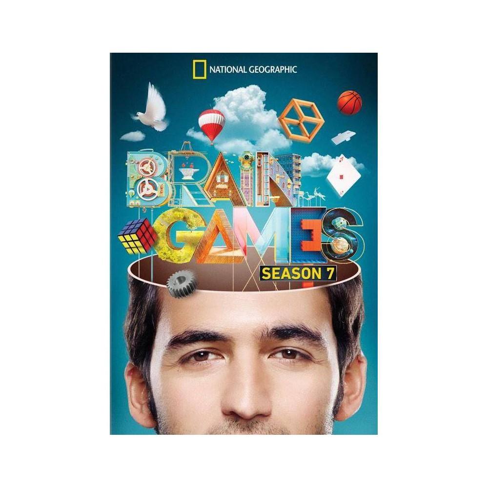 National Geographic Brain Games Season 7 Dvd 2016