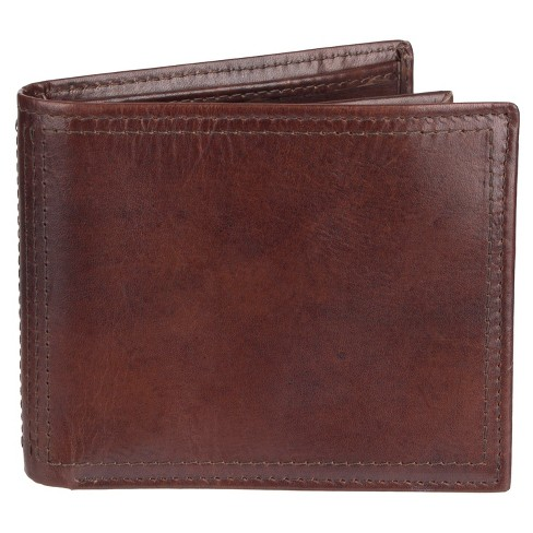 Men's Wallet - Goodfellow & Co™ Brown Solid - image 1 of 3