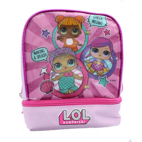 PowerHouse Toys LLC LOL Surprise! Showtime 9-Inch Zip Bottom Lunch Bag - image 1 of 2