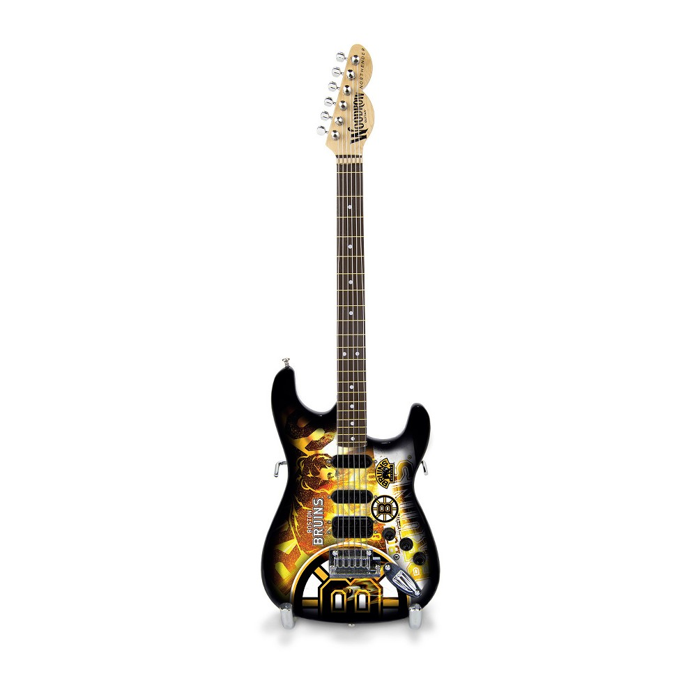 Boston Bruins Mini Guitar