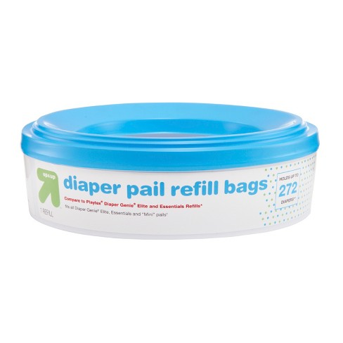 Diaper Pail Refill Bags Up