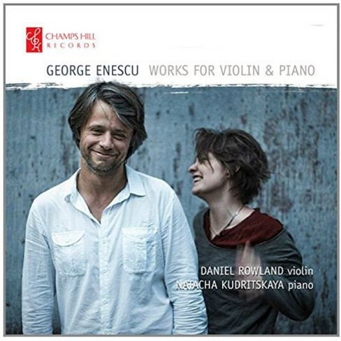Daniel Rowland - Enescu:Works For Violin & Piano (CD) - image 1 of 1