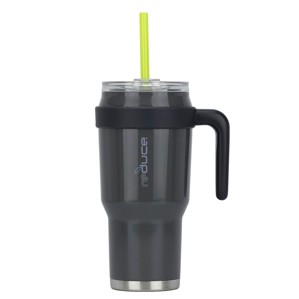 Image of Reduce 40oz Cold 1 Stainless Steel Hydration Bottle Dark Gray