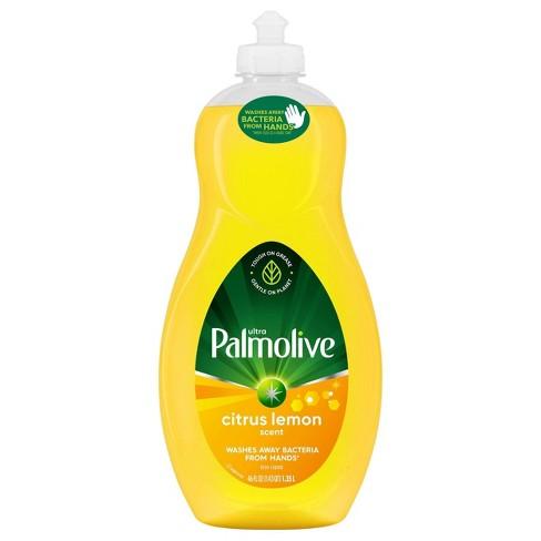 Palmolive Ultra Liquid Antibacterial Dish Soap - Lemon - 46 fl oz - image 1 of 4