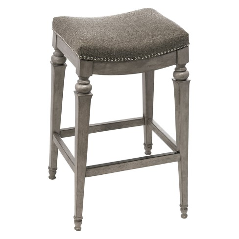 Vetrina Backless Counter Stool - Weathered Gray - Hillsdale Furniture - image 1 of 2