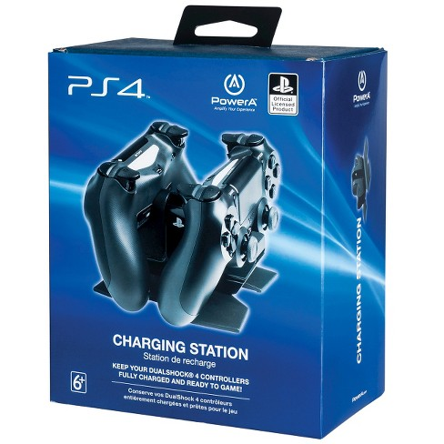 022a2f02f7e71f PowerA PlayStation 4 DualShock Controller Charging Station : Target