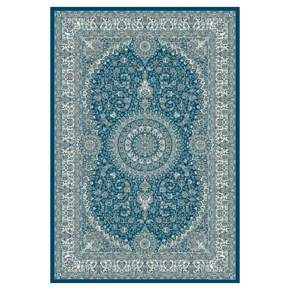Blue Classic Woven Area Rug - (7'X10') - Art Carpet