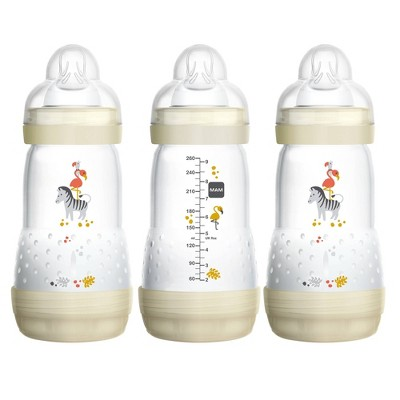MAM Anti-Colic Bottle, 9oz, 3ct