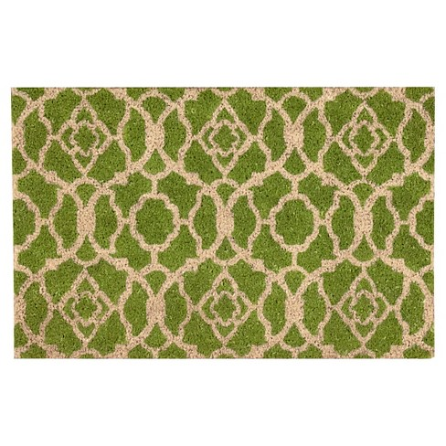 Green Lovely Lattic Greetings Accent Rug (2'x3') - Waverly® - image 1 of 1