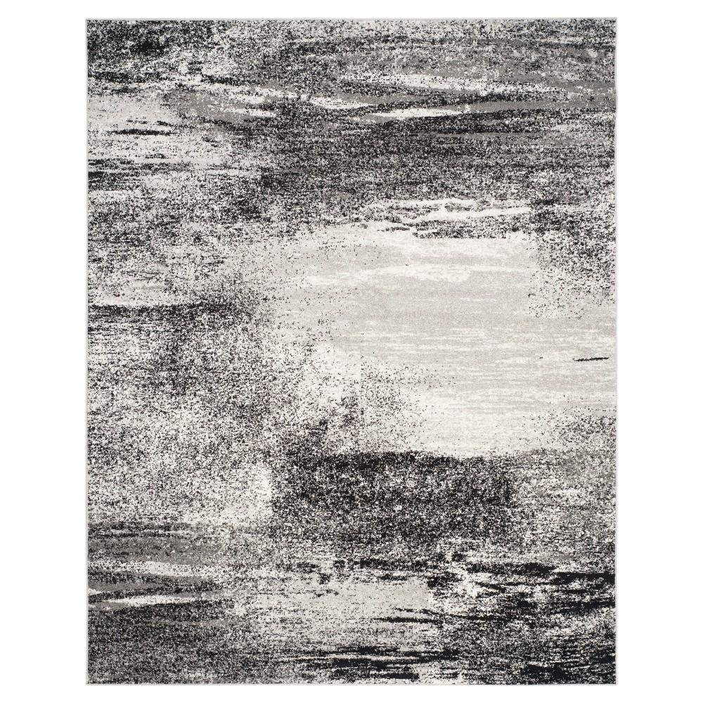 Nykko Area Rug - Silver/Multi (9'x12') - Safavieh, Silver/Multi-Colored