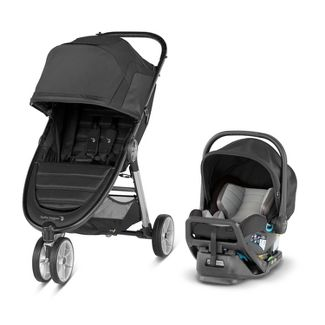 Baby Jogger City Mini 2 3-Wheel Travel System With City GO 2 Infant Car Seat - Jet Black