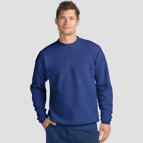 Navy, 2XL Premium Cotton Crew Neck Sweatshirt
