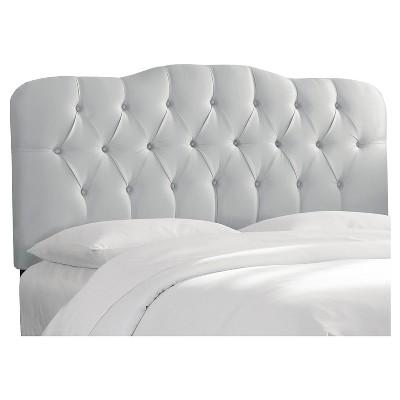 Seville Faux Silk Upholstered Headboard - Skyline Furniture