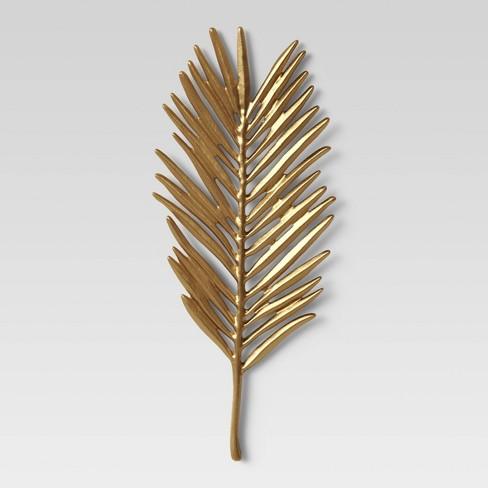 Leaf Wall Decor Light Gold - Opalhouse™ - image 1 of 3