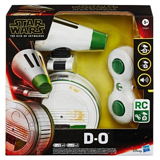 Star Wars Remote Control D-O Rolling Electronic Droid Toy image number null