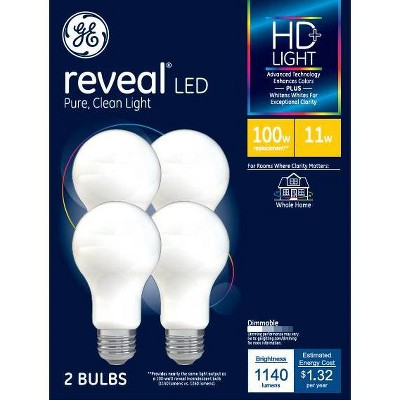 General Electric Reveal Aline LED Light Bulbs