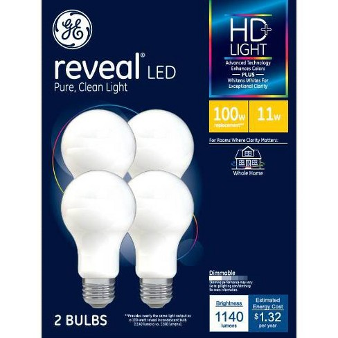 General Electric Reveal Aline LED Light Bulbs - image 1 of 1
