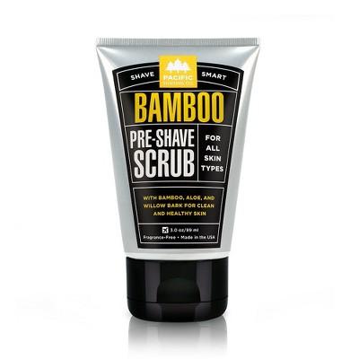 Pacific Shaving Co. Bamboo Pre-Shave Scrub - Trial Size - 3oz