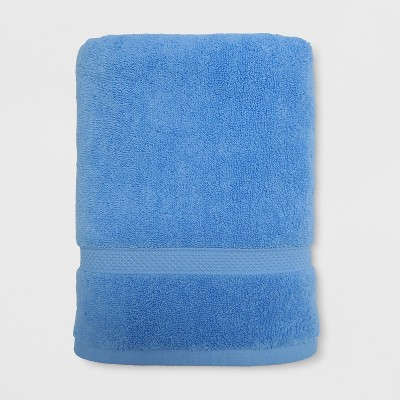 Perfectly Soft Solid Bath Towel Placid Blue - Opalhouse™