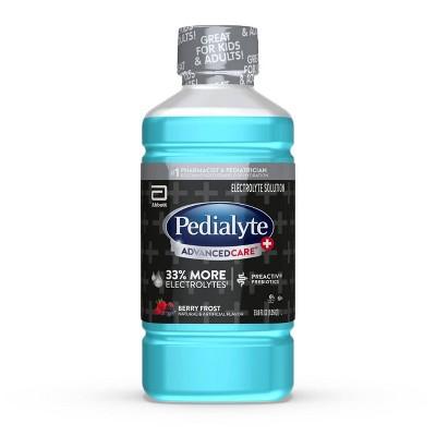 Pedialyte AdvancedCare Plus Electrolyte Solution - Berry Frost - 33.8 fl oz