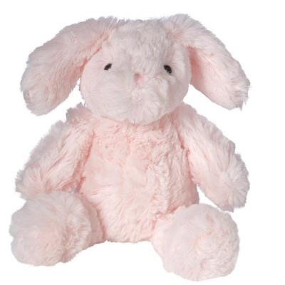 "Manhattan Toy Lovelies Pink Binky Bunny Plush Animal Toy, 8"""