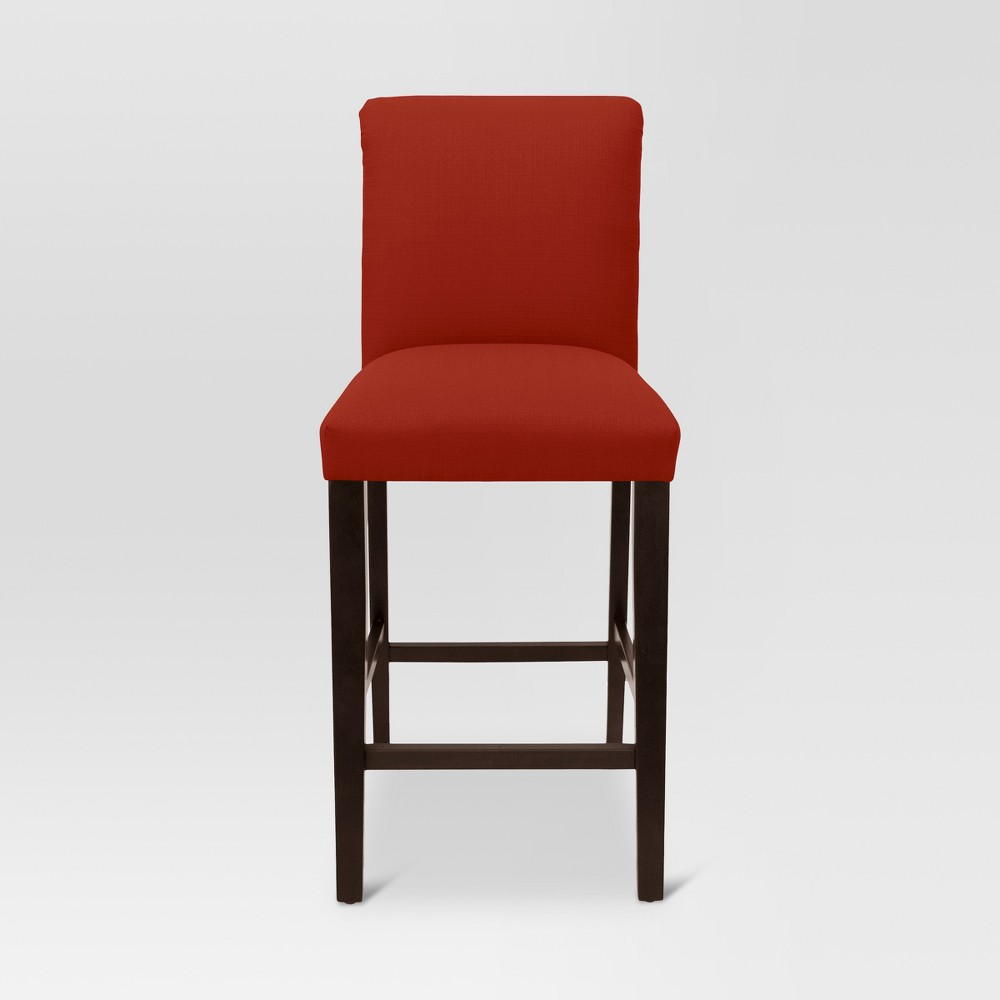 30 Parsons Barstool - Sterling Antique Red - Threshold