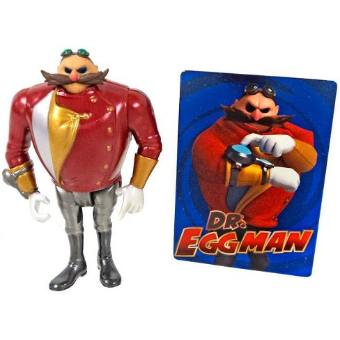 Sonic The Hedgehog Sonic Boom Dr Eggman Action Figure Metallic
