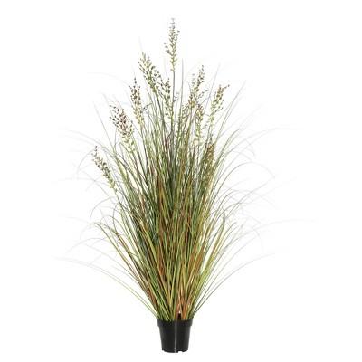 "Artificial Grass Plant (24"") Brown - Vickerman"