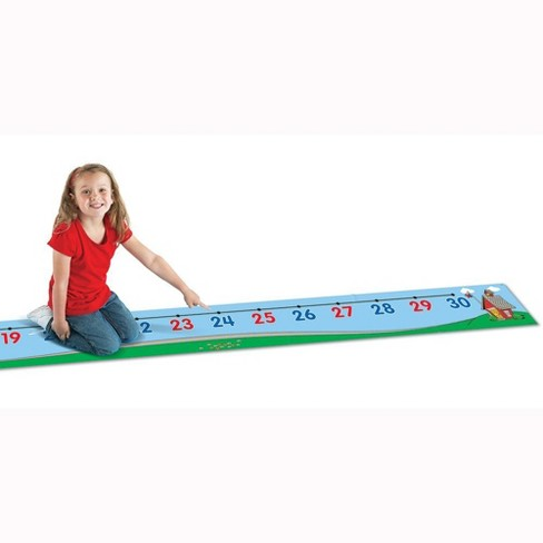 Learning Resources 0-30 Number Line Floor Mat, Ages 5+ - image 1 of 4